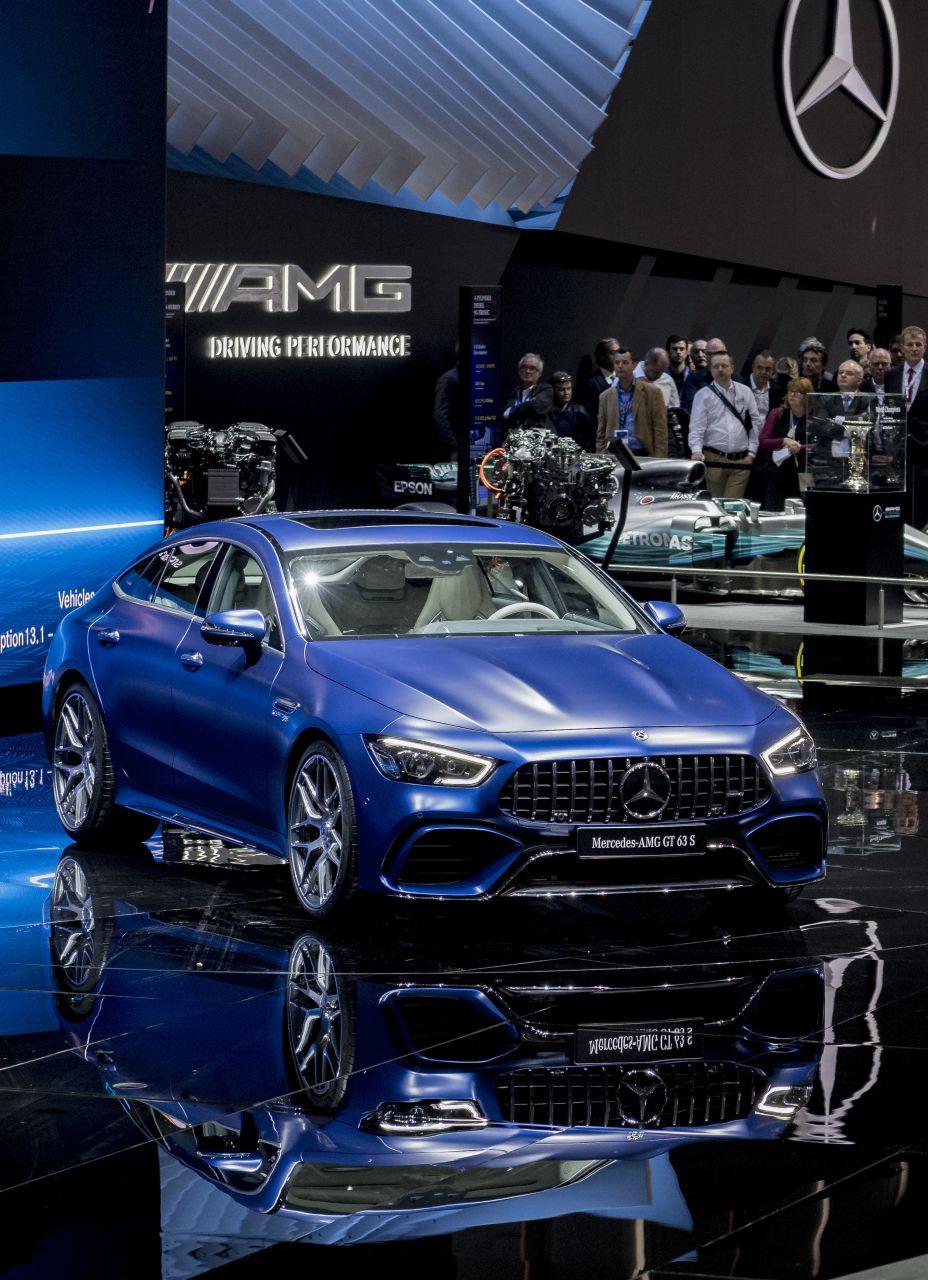 Mercedes auf dem Genfer Autosalon 2019: Live-Mercedes ...