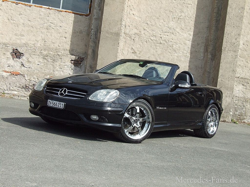 damenwahl mercedes slk 32 amg r170 2001er roadster. Black Bedroom Furniture Sets. Home Design Ideas
