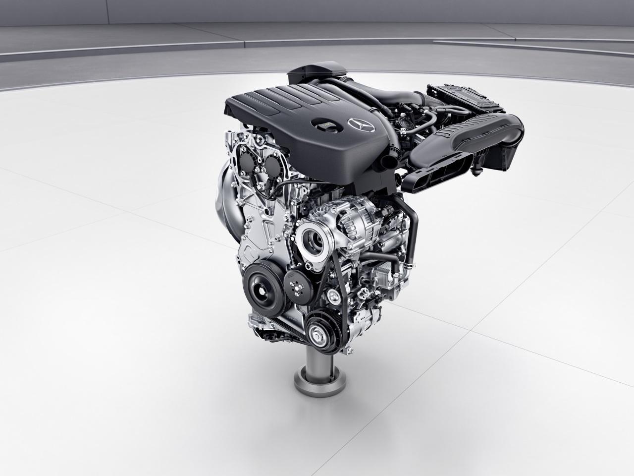 Mercedes Benz Neue A Klasse W177 Unter Der Haube Der