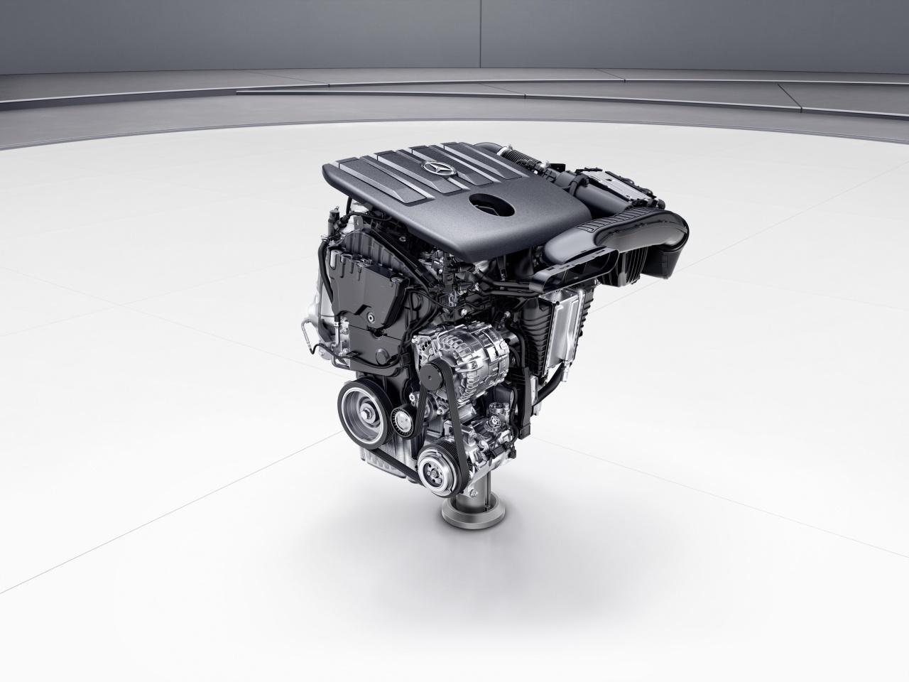 Moteur  Mercedes Performance