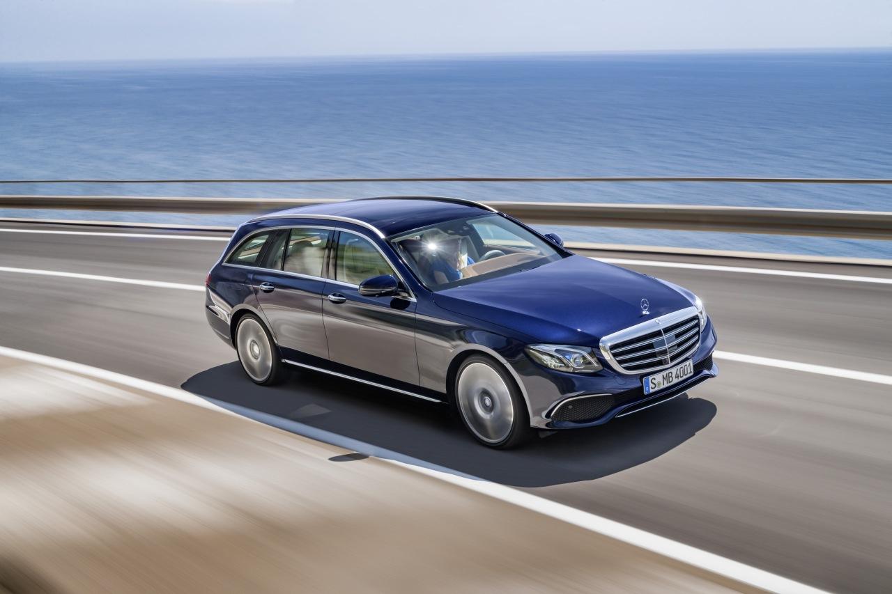 Premiere: Mercedes-Benz E-Klasse T-Modell: Geräumig ...