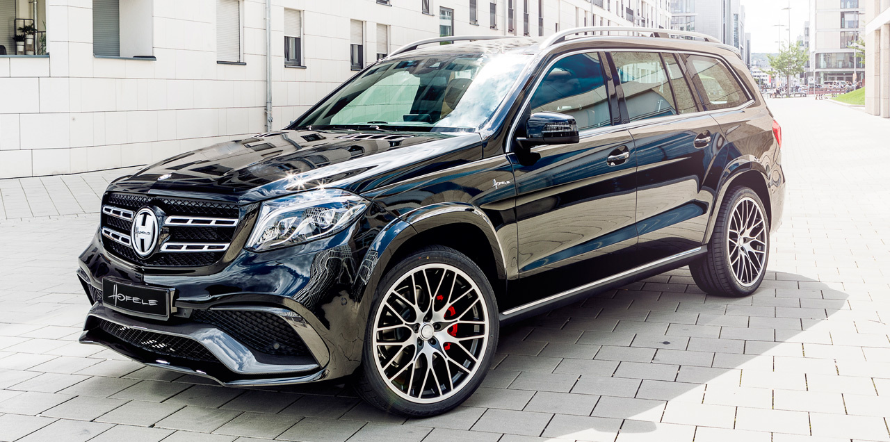 Mercedes benz gls tuning gls 63 looker von hofele design for Mercedes benz lookers