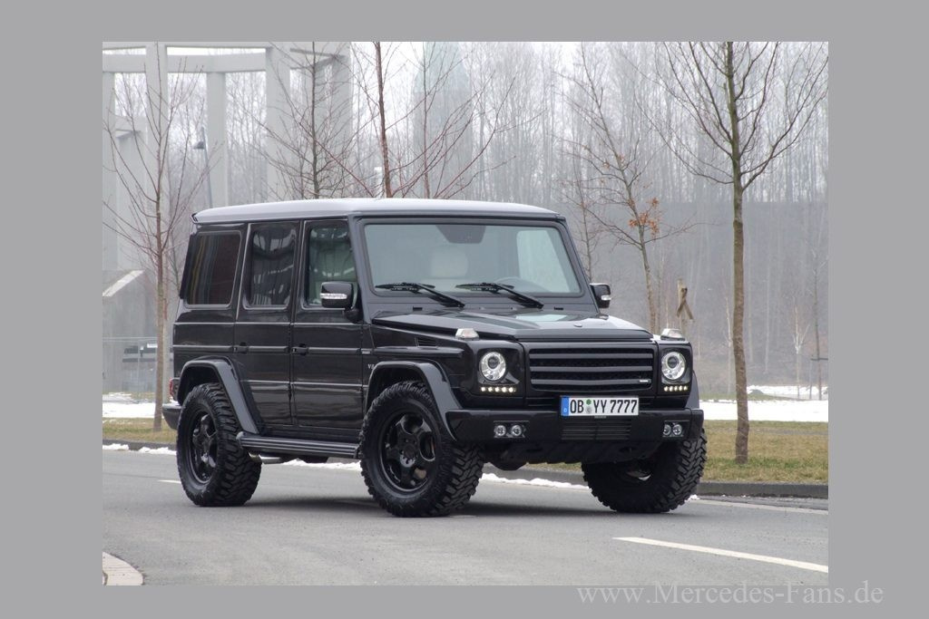 mercedes g55 amg in top form g ro e klasse 2010er mercedes benz g 55 amg kompressor noch. Black Bedroom Furniture Sets. Home Design Ideas