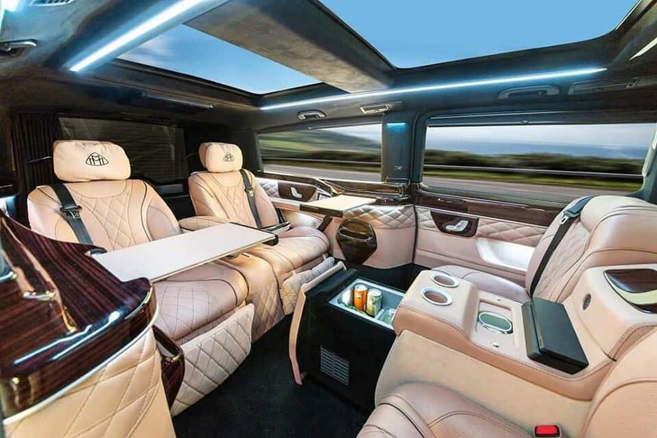 mercedes benz v klasse rollende luxus lounge v klasse im. Black Bedroom Furniture Sets. Home Design Ideas