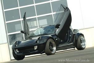 hoch sollen sie heben fl gelt ren f r den smart der 2003er smart roadster bietet einen. Black Bedroom Furniture Sets. Home Design Ideas