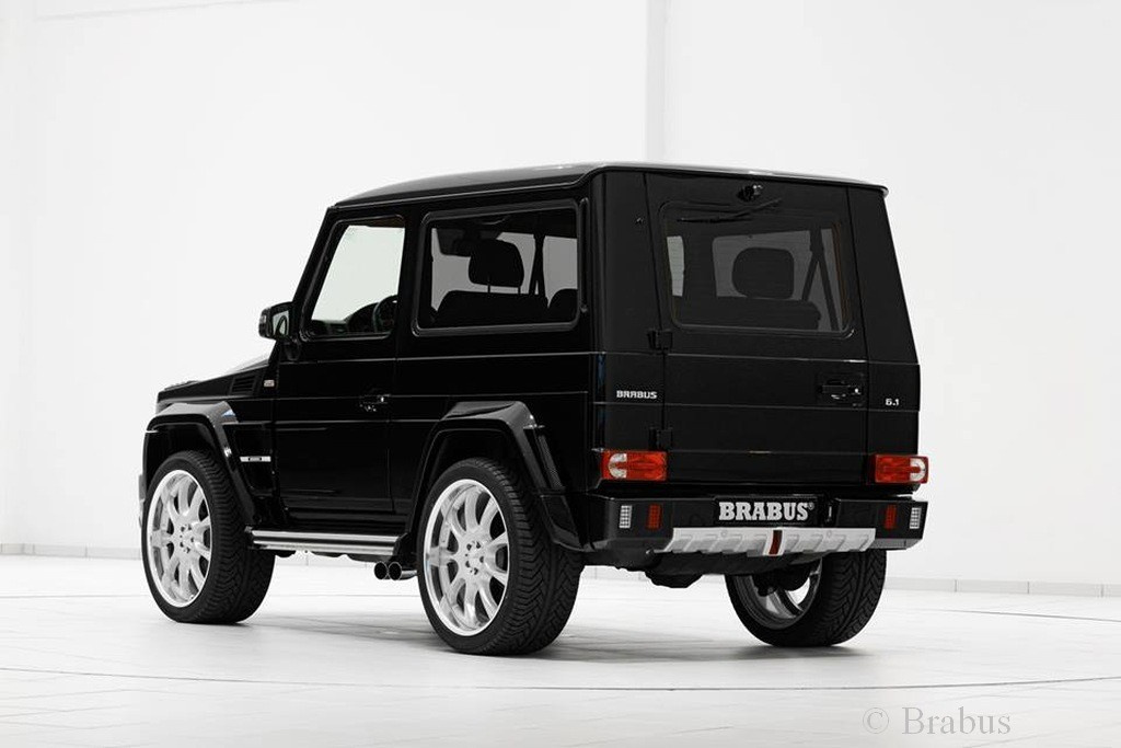kurz aber kr ftig brabus 6 1 widestar f r mercedes g500. Black Bedroom Furniture Sets. Home Design Ideas
