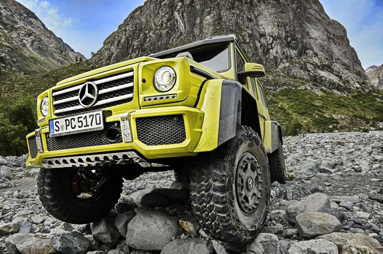 Offiziell: Mercedes G 500 4x4 hoch 2: Abteilung ...