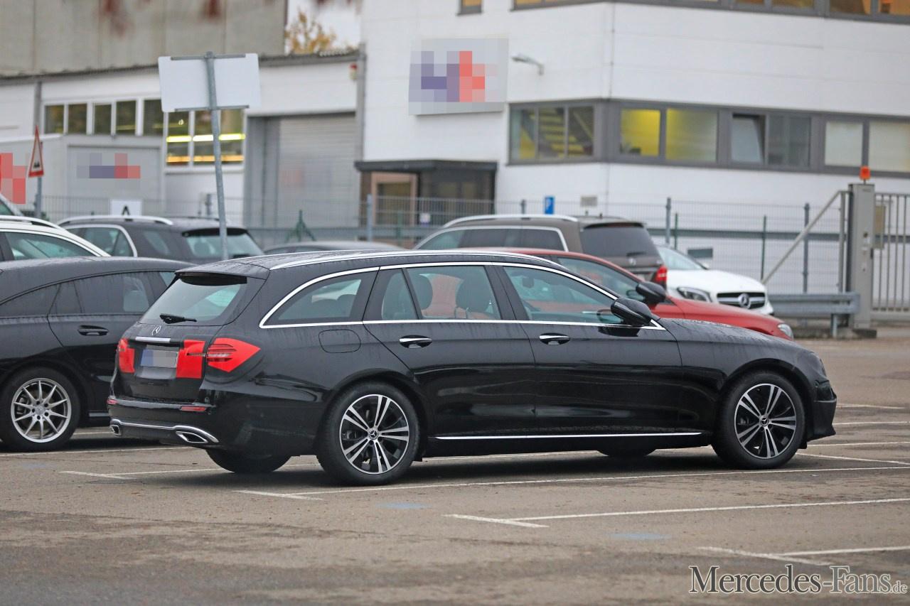 Mercedes Benz Erlkönige Erwischt Star Spy Shot Erste Bilder Von E