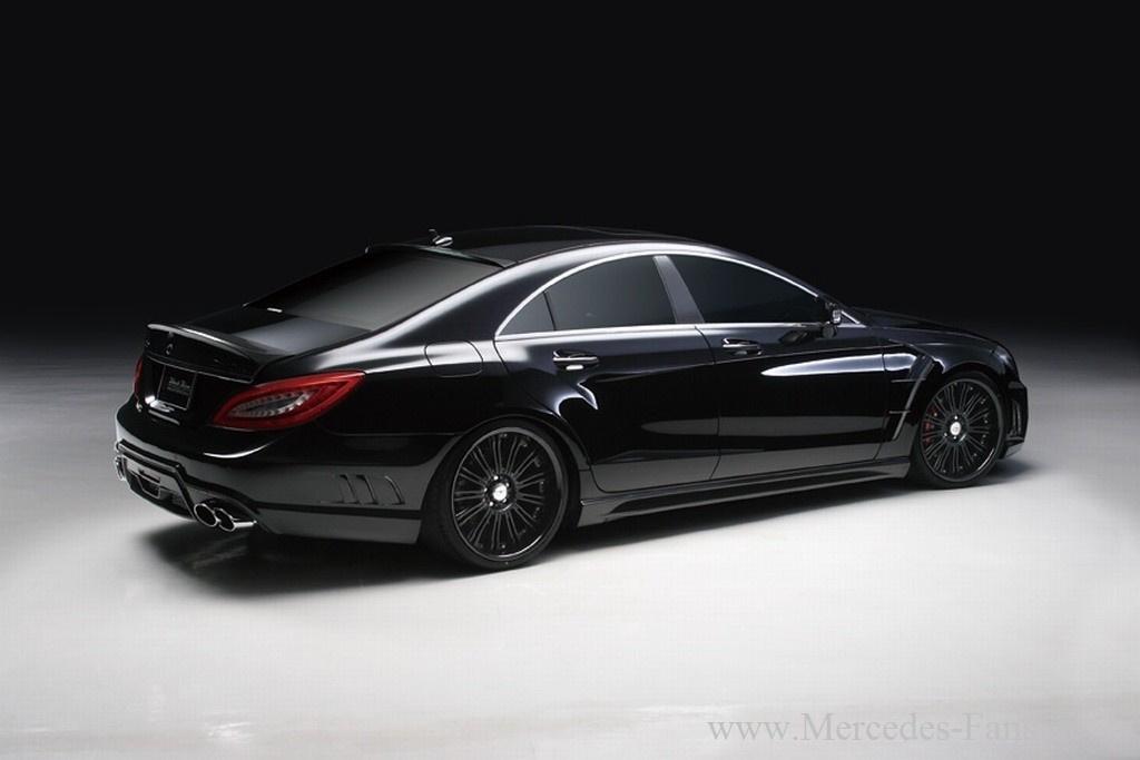 Mercedes Cls 63 Amg Black Bison Tuning Mit Wow Effekt