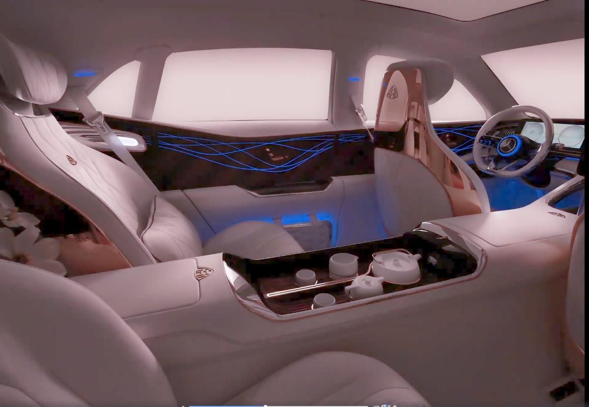vision mercedes-maybach ultimate luxury: neuer teaser & neue
