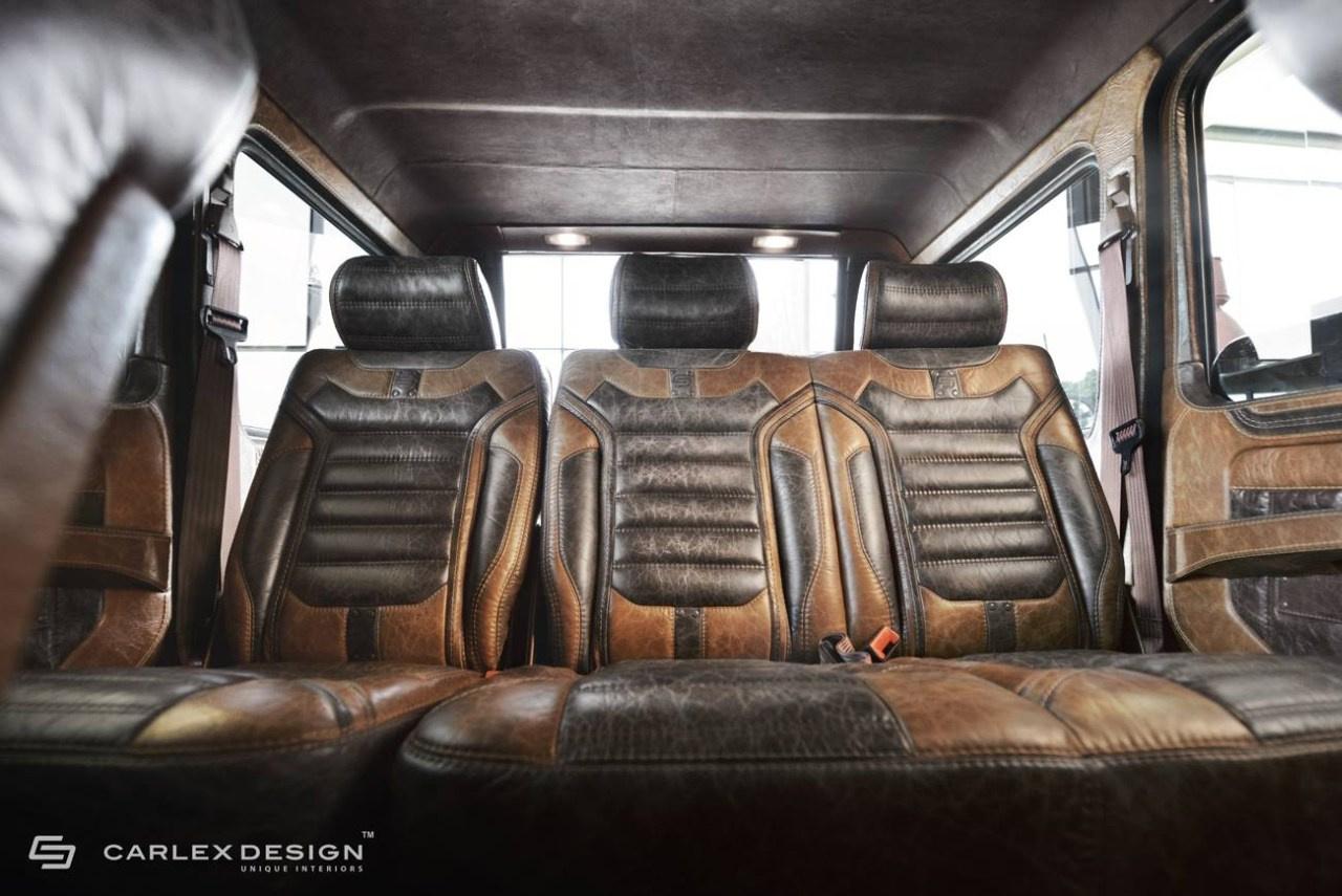Mercedes benz g klasse w463 top interieur im retrolook for G klasse amg interieur