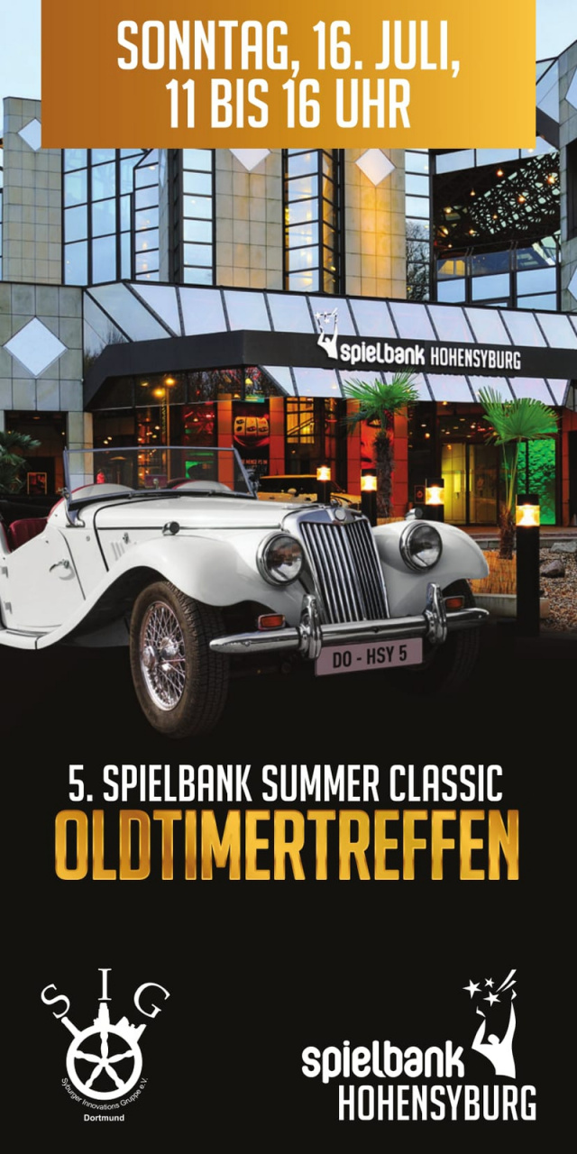 5 oldtimertreffen spielbank summerclassic sonntag 16 juli 2017 spielbank hohensyburg. Black Bedroom Furniture Sets. Home Design Ideas