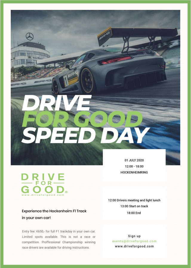 DRIVE FOR GOOD Speed Day