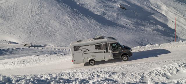 Wohnmobilcamping Im Winter Mercedes Sprinter Hymer My Home Is ML T