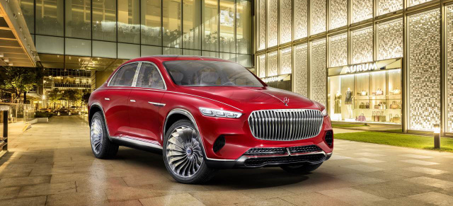 Auto China 2018: Star-Premiere: Offiziell: Das ist der Vision Mercedes-Maybach Ultimate Luxury