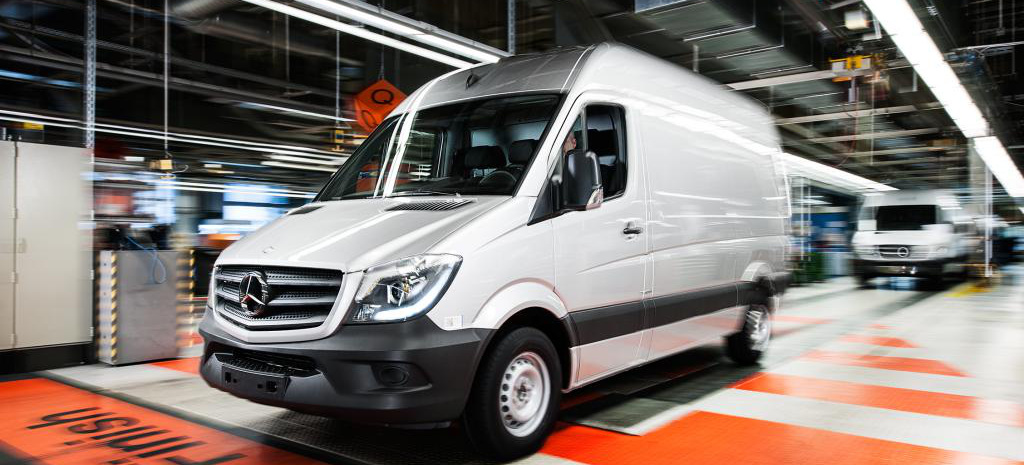mercedes benz vans baut sprinter werk in den usa n chste