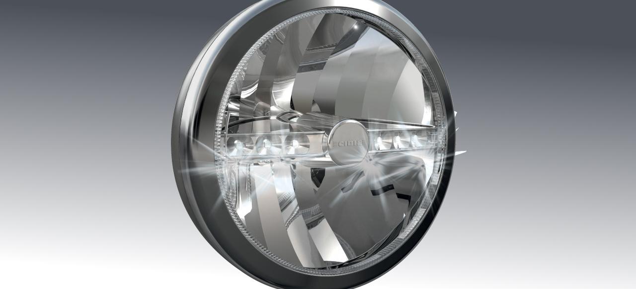 mehr licht von cibi neue oscar led zusatzscheinwerfer f r pkw lkw news mercedes fans. Black Bedroom Furniture Sets. Home Design Ideas