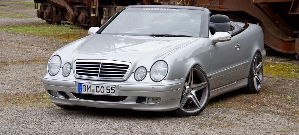 Elf jahre und kein bisschen leise mercedes benz clk 430 for Mercedes benz 430 clk