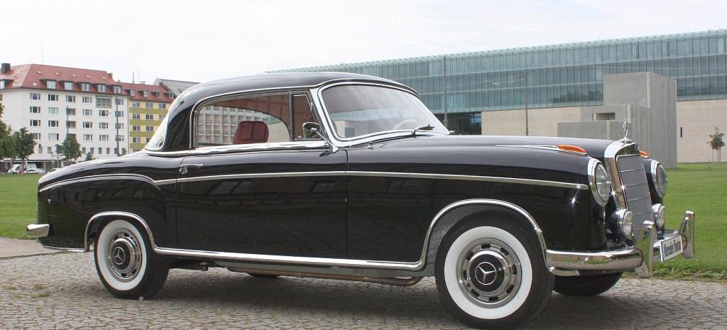 Originalgetreu Restauriert 1958 Mercedes Benz Ponton