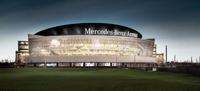 bernahme aus o2 world wird mercedes benz arena. Black Bedroom Furniture Sets. Home Design Ideas