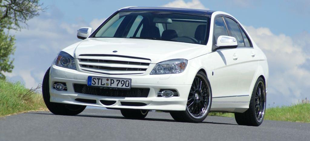 mercedes c klasse tuning v therlicher freund sportlicher diesel 320 cdi performance. Black Bedroom Furniture Sets. Home Design Ideas