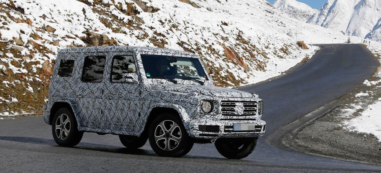 Mercedes benz g klasse 2018 grundliche neugestaltung for Cafissimo neues modell