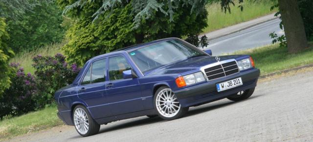Blau Wie Der Himmel 1992 Mercedes Benz 190e 2 3 Azzurro