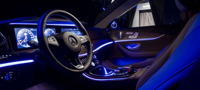 Mercedes E-Klasse W213: 60-Sekunden-Video: Das Interieur der neuen ...