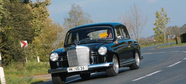 """Und es hat """"Booms"""" gemacht: Mercedes 180 Power-Ponton: Klassiker mit ..."""