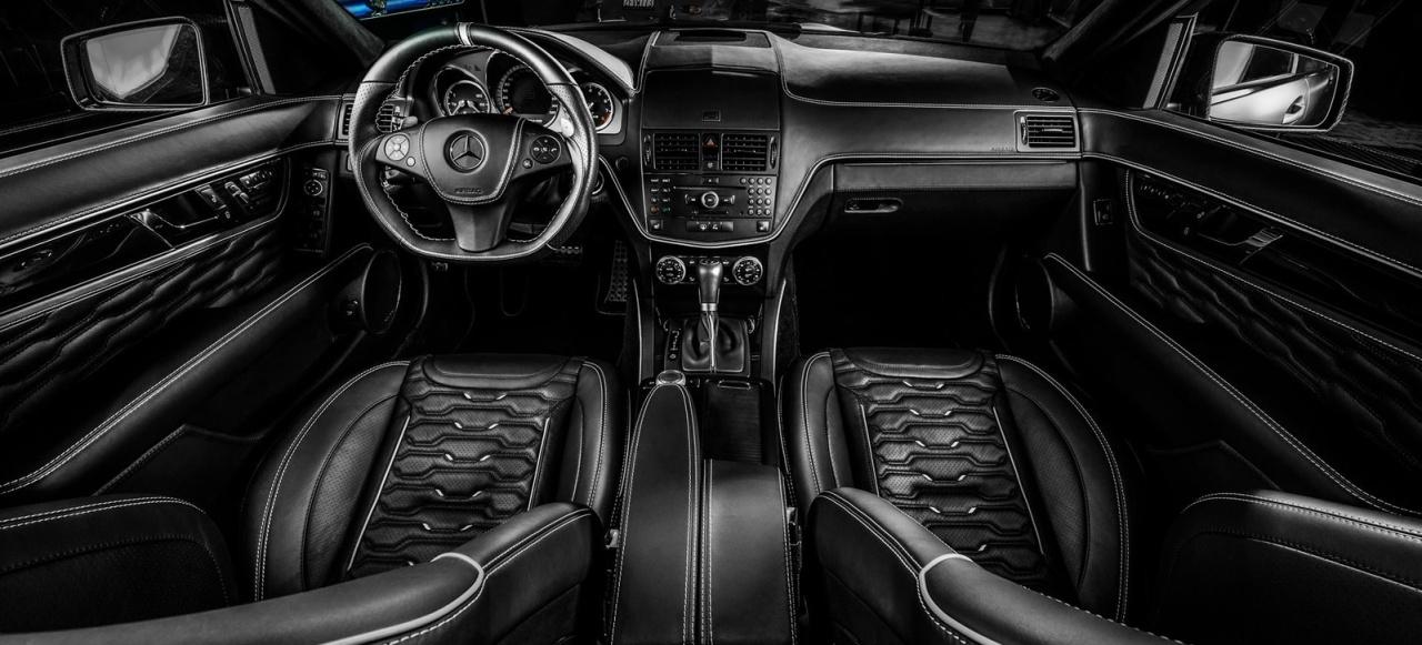 Mercedes benz c63 amg innere werte umfeldverbesserung for Innere design