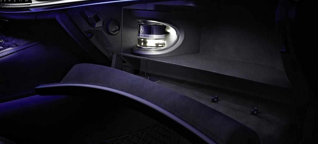 die neue mercedes benz s klasse ist dufte air balance. Black Bedroom Furniture Sets. Home Design Ideas