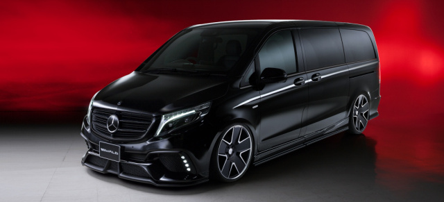 Mercedes-Benz V-Klasse Tuning: Kommt bald: Sports Line Black Bison Edition für Mercedes V-Klasse W447