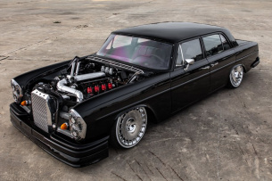 Mercedes-Benz 280 S: Extrem-Tuning: Wow-Car:  Der 69er Mercedes-Benz 280 S hat das Zeug zum Superstar