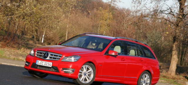 rentier schlitten: mercedes-benz c-klasse c 350 blueefficiency: ein