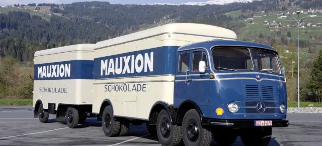 Mercedes Trucks: Schwere Sterne: 50 Jahre Mercedes Lkw-Entwicklung ...