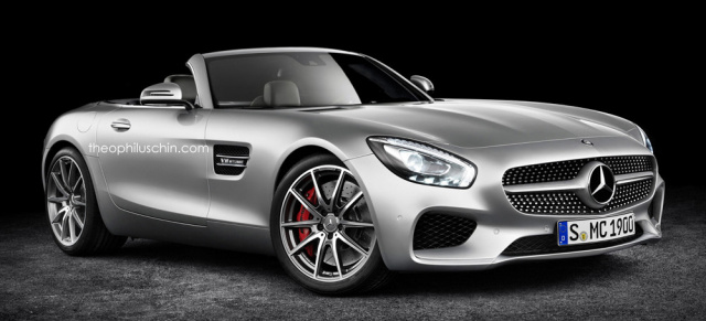 Wann Kommt Die Offenbarung Mercedes Amg Gt Als Roadster