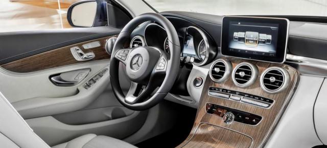 Interieur auto  Innere Werte: Mercedes C400 hat das schönste Interieur: US-Magazin ...