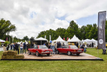 Classic Days Schloss Dyck 2018: Start-up-Spirit 1886 auf der Apfelwiese