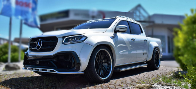 Mercedes-Benz X-Klasse Tuning: Totale Erniedrigung für den Mercedes-Benz Pick-Up