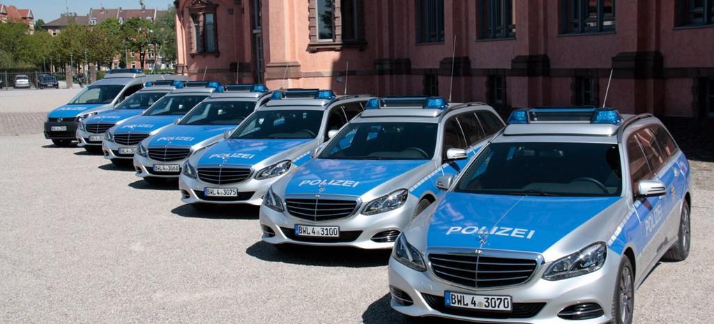 1700 neue Mercedes-Benz für Polizei Baden Württemberg ...