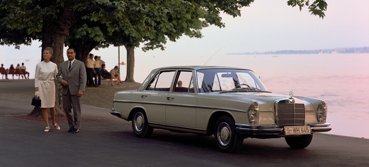 Happy Birthday 50 Jahre Mercedes Benz Baureihe W108