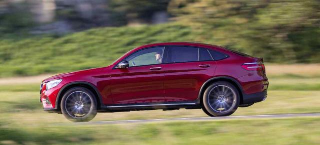 Fahrbericht Mercedes Benz Glc Coup 233 300 350 D Und 350