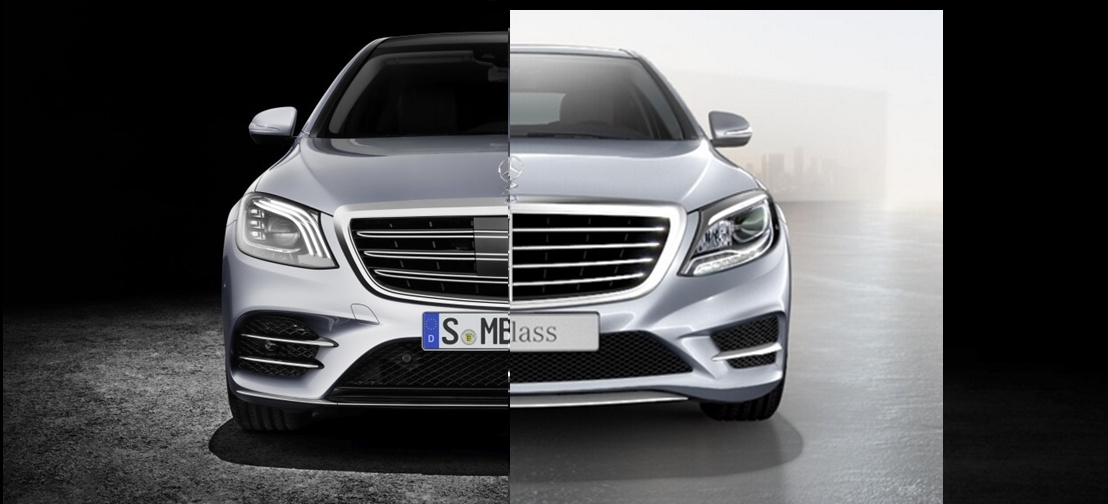 Mercedes Benz S Klasse Gegen 252 Berstellung Alt Vs Neu