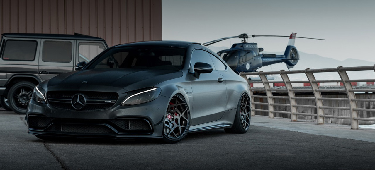 Mercedes Amg C63 S Coup 233 Tuning Starkes Standing F 252 R Das