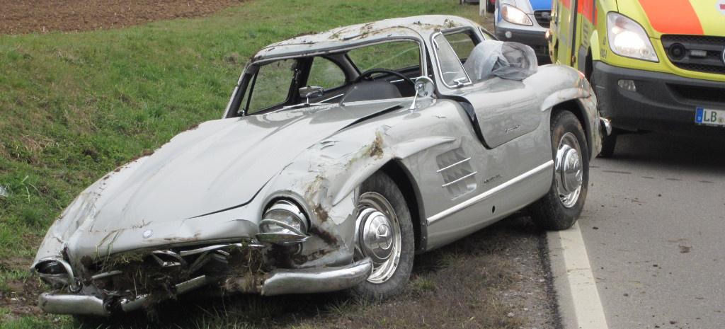 Mechatronik Verunfallt Mercedes Benz 300 Sl Fl 252 Gelt 252 Rer