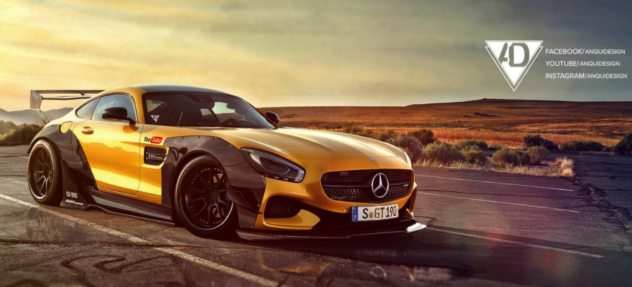 Mercedes Amg Gt R Virtuelles Tuning Hot Or Not