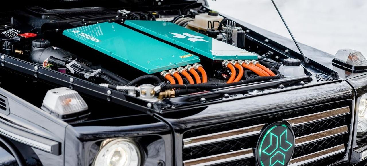 Mercedes-Benz Elektromobilität: EQG kommt 2021: Mercedes ...