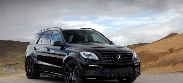 Mercedes C With Black Rims