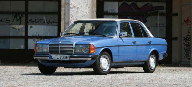 123 Meins 1980er Mercedes Benz 230 W123 Ich Wollte Schon