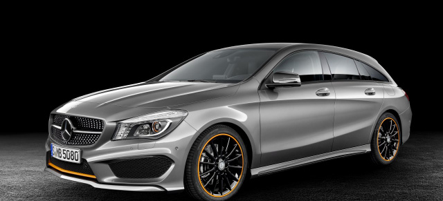 Mercedes cla shooting brake ausstattung modelle der for Mercedes benz modelle